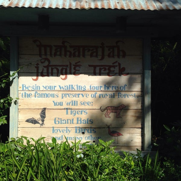 Photo taken at Maharajah Jungle Trek by Rodrigo L. on 9/21/2014