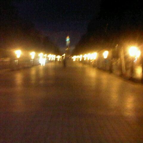 Photo taken at Avenue Habib Bourguiba I شارع الحبيب بورقيبة by Marwen T. on 11/6/2012