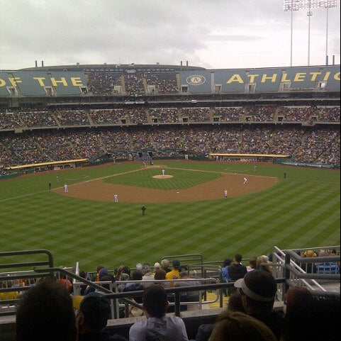 Photo taken at O.co Coliseum by Reginald on 5/27/2013