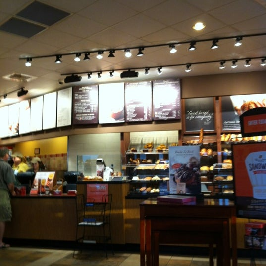 Photo taken at Panera Bread by Bob W. on 9/30/2012