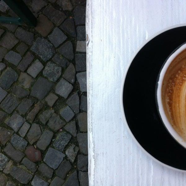 Photo taken at Bonanza Coffee by Chris Z. on 6/15/2013