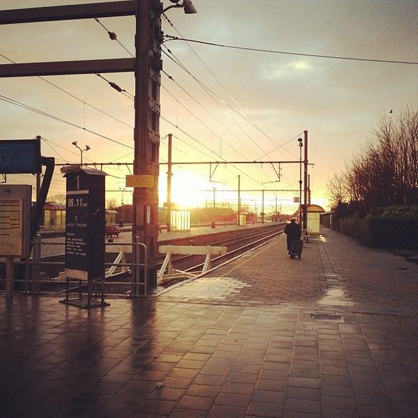 Photo taken at Station Blankenberge by Jason W. on 11/30/2012