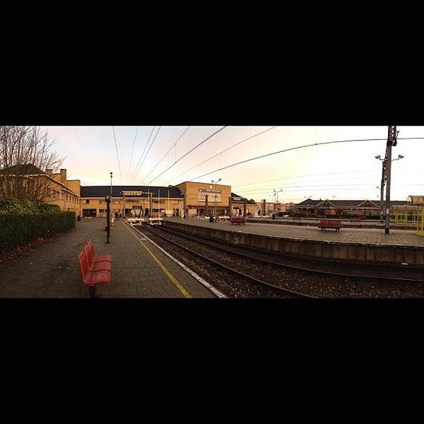 Photo taken at Station Blankenberge by Jason W. on 11/21/2012
