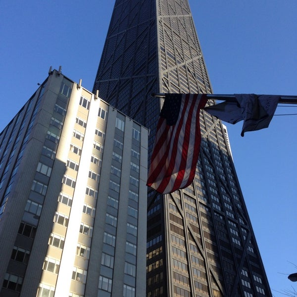 Photo taken at John Hancock Center by Léo L. on 3/4/2014