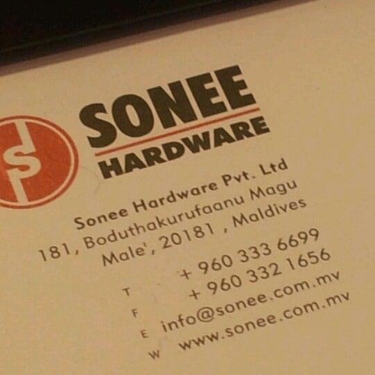 Photo taken at Sonee Hardware Professional by Hannu- H. on 1/7/2013
