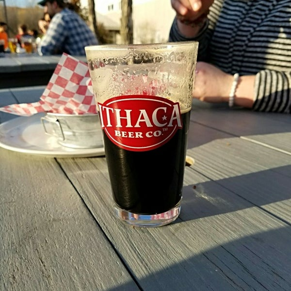Photo taken at Ithaca Beer Co. Taproom by Philip F. on 11/5/2016