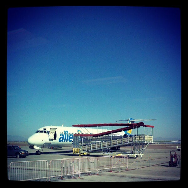 Photo taken at Phoenix-Mesa Gateway Airport (AZA) by Kevin M. on 11/7/2012