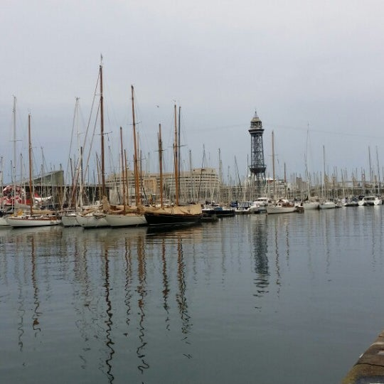 Photo taken at OneOcean Port Vell Barcelona by Dmitry P. on 9/22/2014