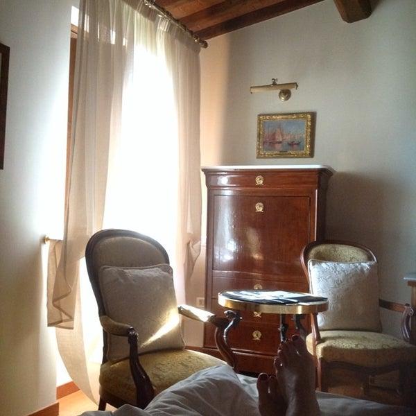 Photo taken at Villa Olmi Firenze by Giulia N. on 6/10/2014