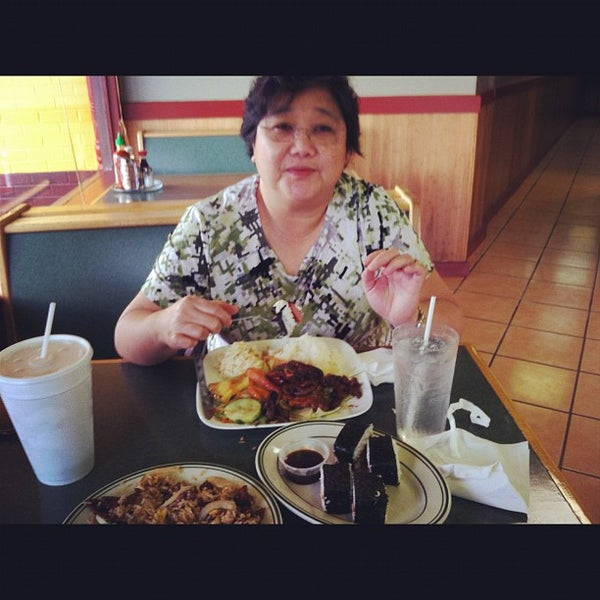 Photo taken at Aloha Hawaiian BBQ by Ex D. on 10/2/2012