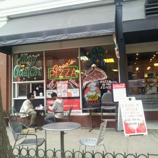 Photo taken at Rosa's Pizza by Brian C on 12/6/2012
