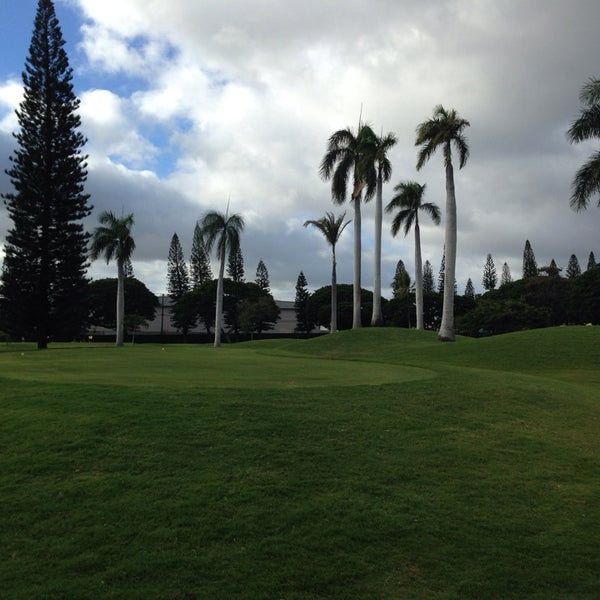 Photo taken at Navy Marine Golf Course by Kym R. on 12/27/2013