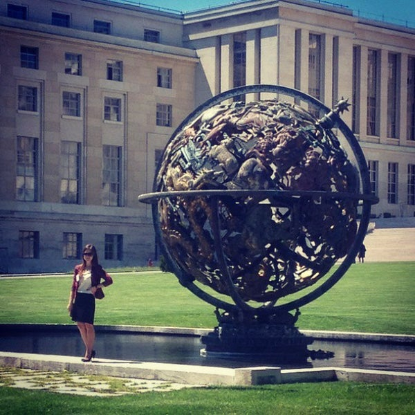 Photo taken at Palais des Nations by Екатерина Е. on 5/14/2013