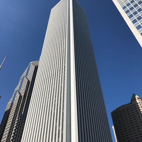 Photo taken at Aon Center by Christian O. on 10/9/2016