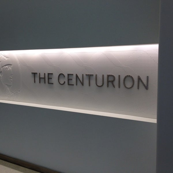 Photo taken at The Centurion Lounge by American Express by Nick C. on 8/25/2013