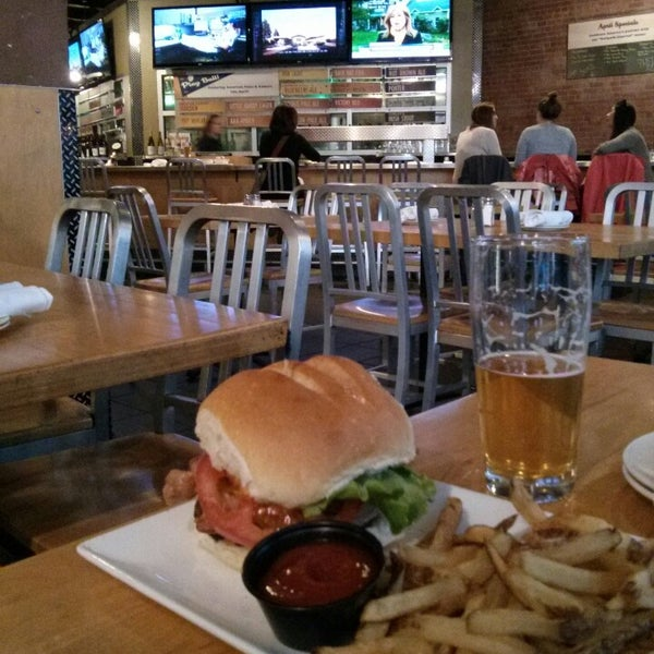 Photo taken at Boston Beer Works by Anne H. on 4/30/2013