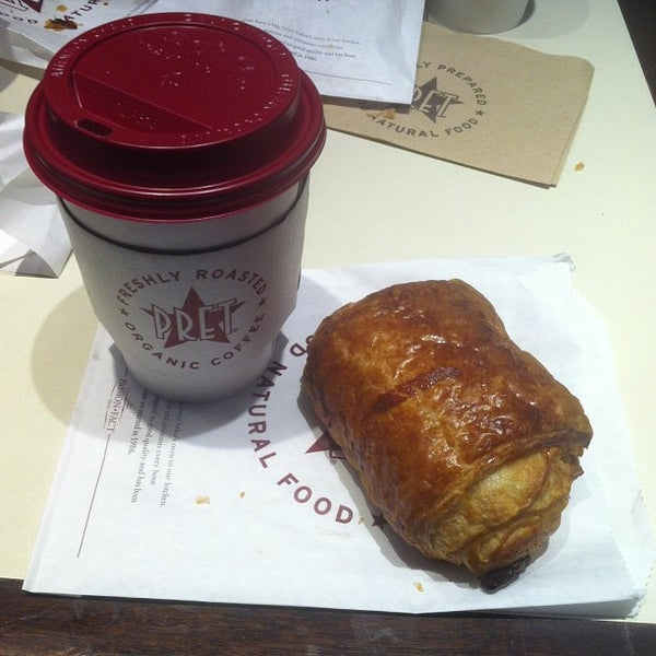 Photo taken at Pret A Manger by Tommy G. on 2/21/2013