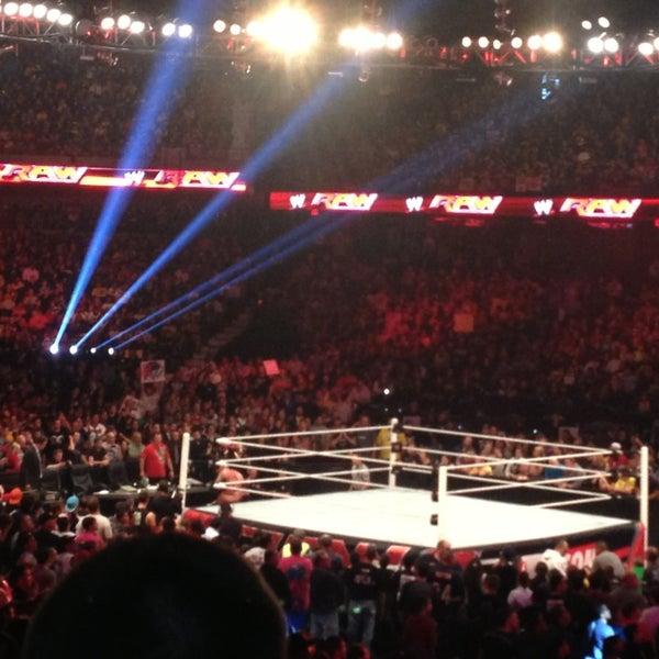 Photo taken at Allstate Arena by Jennifer on 9/24/2013