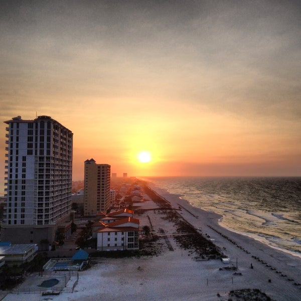 Photo taken at Hilton Pensacola Beach Gulf Front by Chris S. on 4/16/2013