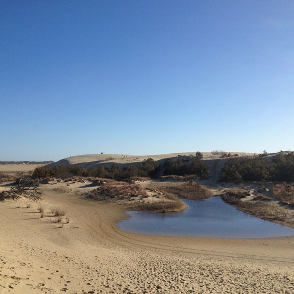 Photo taken at Jockey's Ridge State Park by Chris S. on 3/9/2013