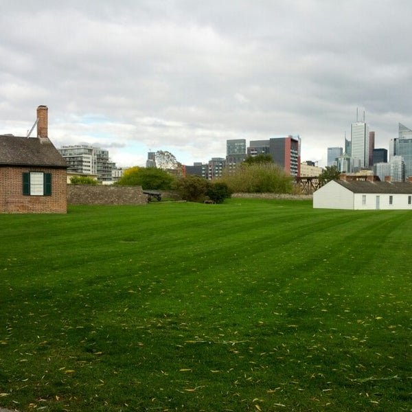 Photo taken at Fort York by Colin C. on 10/27/2013