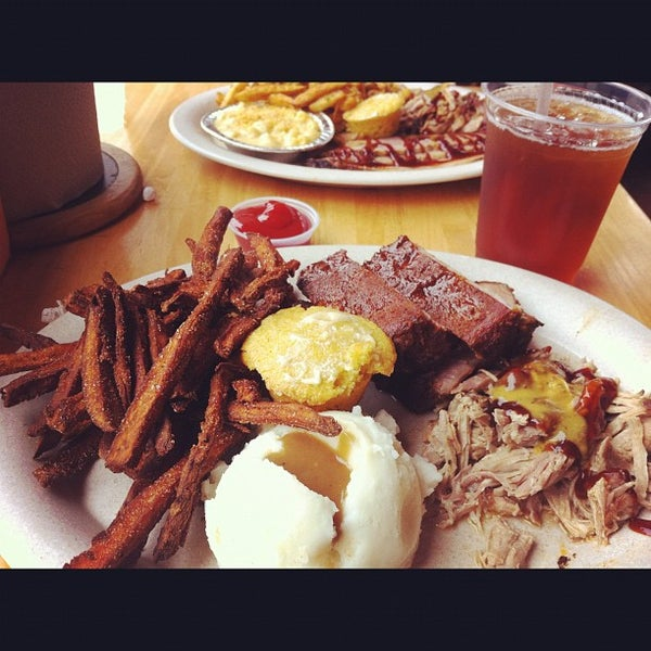 Photo taken at Riverside BBQ by Henley N. on 8/17/2012