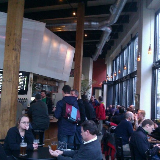Photo taken at Bailey's Taproom by Rand F. on 2/24/2012