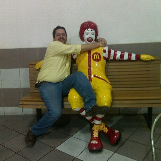 Photo taken at McDonald's by Cesar C. on 9/4/2011