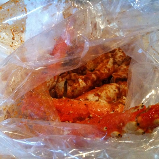Photo taken at The Boiling Crab by Angela on 2/18/2011