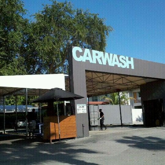 Photo taken at Karma Car Wash by JamesBrownInMiami on 8/14/2011
