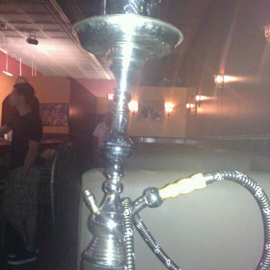 Photo taken at Nara Cafe Hookah Bar by MsDanaPatrice on 5/28/2012