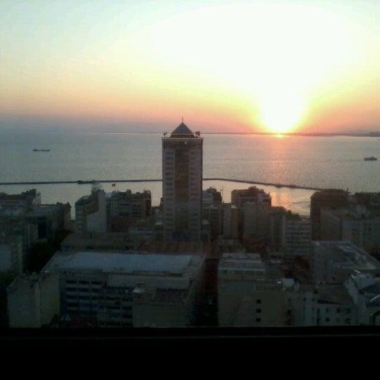 Photo taken at Hilton İzmir by Murat B. on 7/6/2012