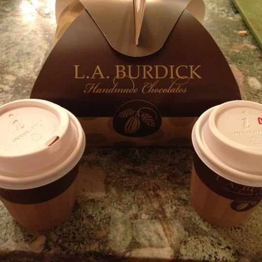 Photo taken at L.A. Burdick Chocolate by Elena A. on 2/20/2012