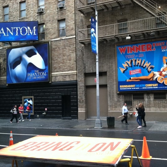 Photo taken at BRING IT ON at the St. James Theatre by T.V on 5/24/2012