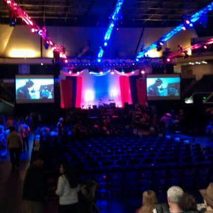 Photo taken at Allen Arena by Liz H. on 3/7/2012