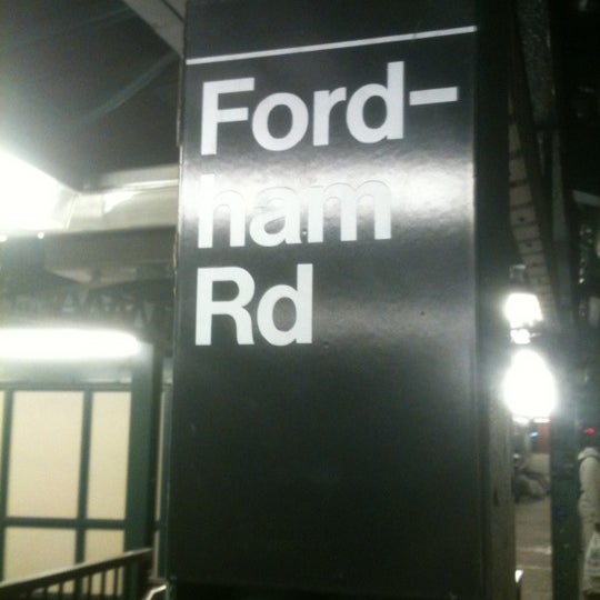 Photo taken at MTA Subway - Fordham Rd (4) by Roshon M. on 5/15/2012