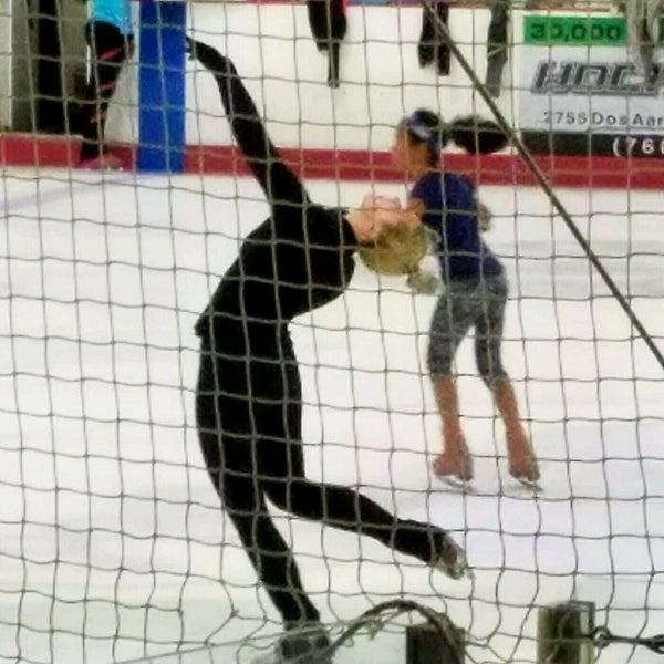 Photo taken at San Diego Ice Arena by Lisa K. on 8/12/2016