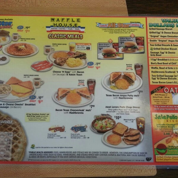 Photo taken at Waffle House by Michael C. on 4/18/2014
