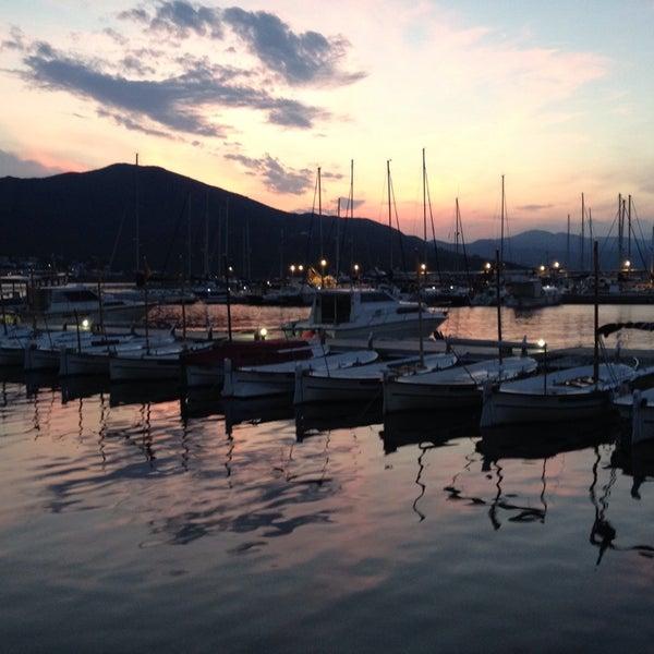 Photo taken at Port de la Selva by Gustavo B. on 9/5/2014