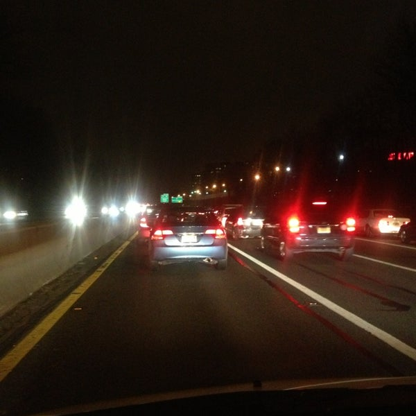 Photo taken at Garden State Parkway -- Saddlebrook by Joseph L. on 2/13/2013