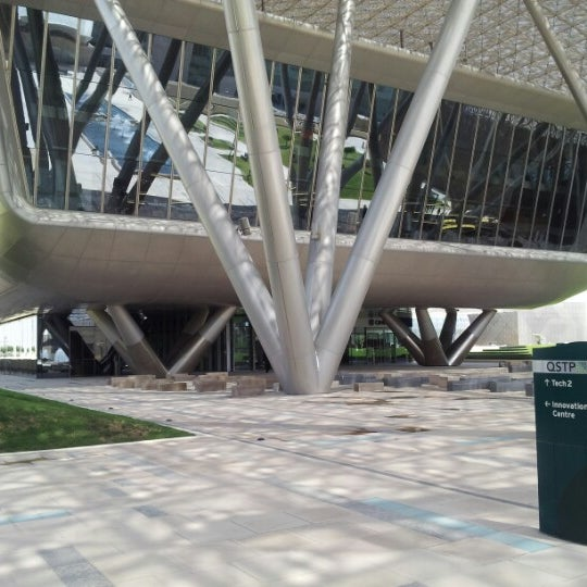 Photo taken at Qatar Science and Technology Park by Gerrit H. on 3/26/2013