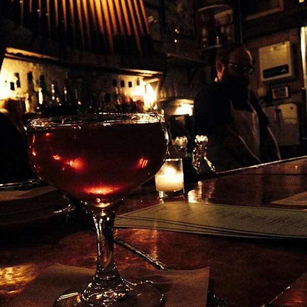 Photo taken at Vinegar Hill House by David K. on 2/1/2014