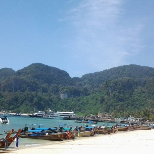 Photo taken at Phi Phi Island by X R. on 2/20/2013