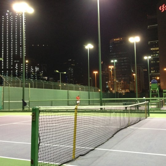 Photo taken at Qatar Tennis Federation by Ꮎzåи on 1/6/2013