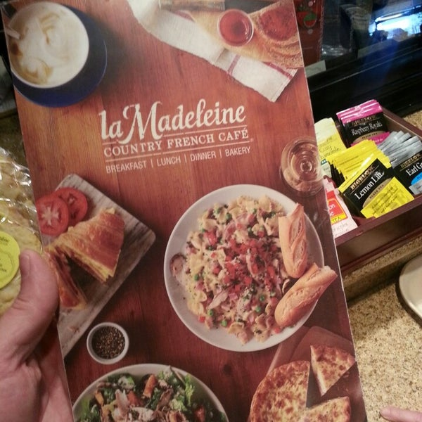 Photo taken at La Madeleine Country French Café by Mike W. on 5/2/2015