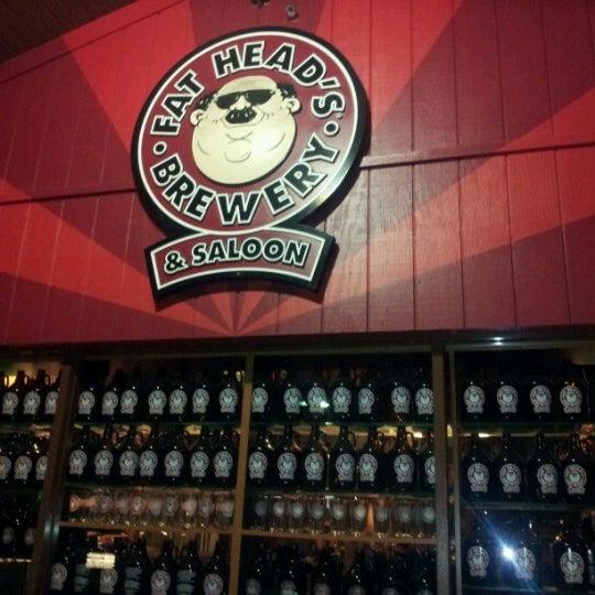 Photo taken at Fat Head's Brewery & Saloon by Marranda B. on 11/5/2012