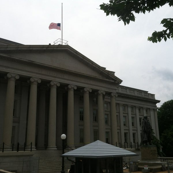 Photo taken at US Department of the Treasury by Adam K. on 6/3/2013