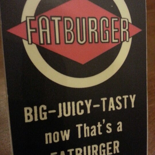 Photo taken at Fatburger by Areej on 10/29/2012
