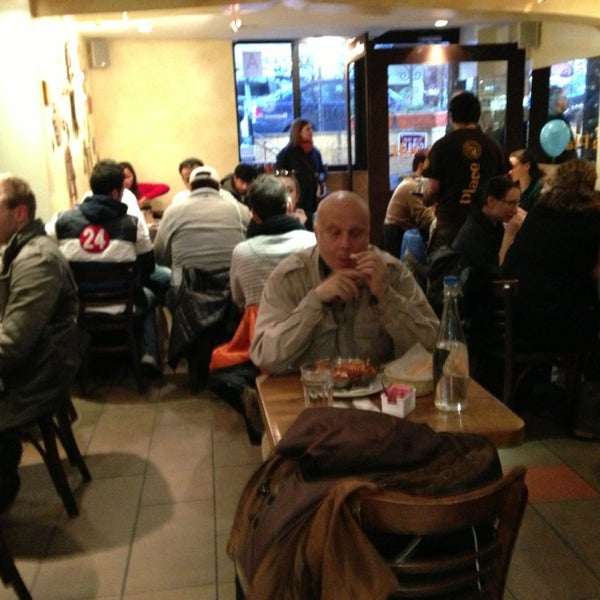 Photo taken at Hummus Place by Karen L. on 12/30/2012