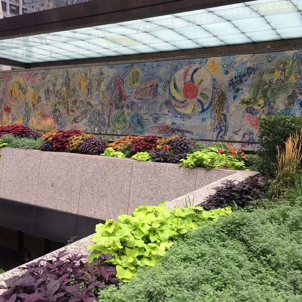 "Photo taken at Chagall Mosaic, ""The Four Seasons"" by Cortney M. on 9/18/2015"